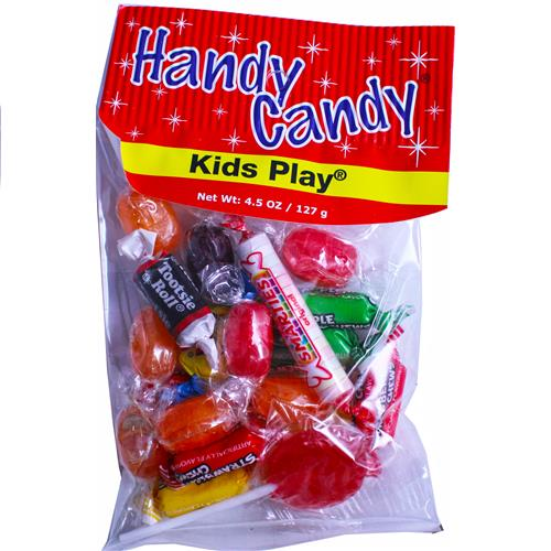 Wholesale HANDY CANDY KIDS PLAYS 24 PER CASE 4.5 OZ BAG