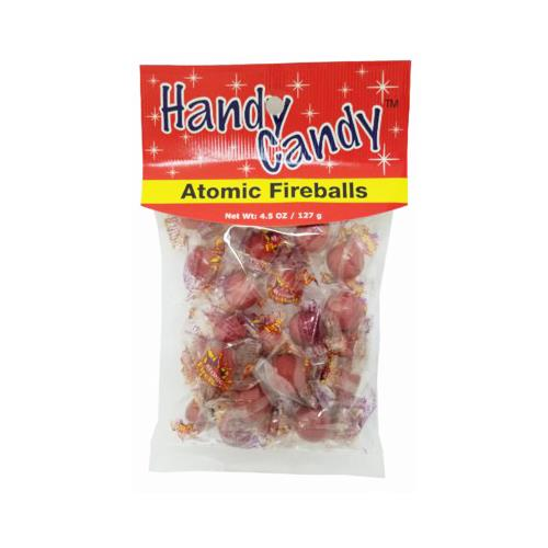 Wholesale HANDY CANDY ATOMIC FIREBALLS 24 PER CASE 4.5 OZ BAG