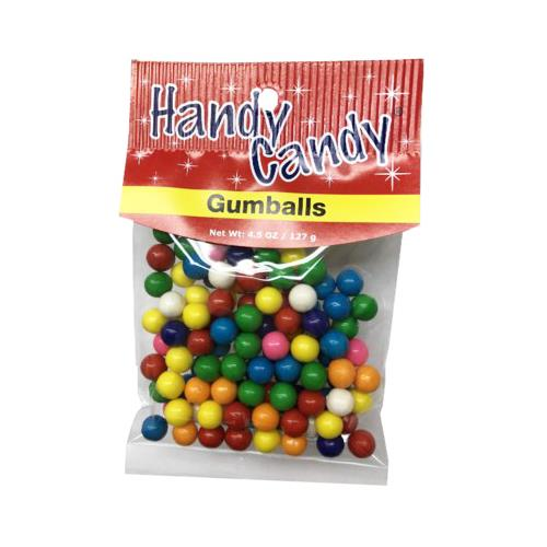 Wholesale HANDY CANDY GUMBALLS 24 PER CASE 4.5 OZ BAG