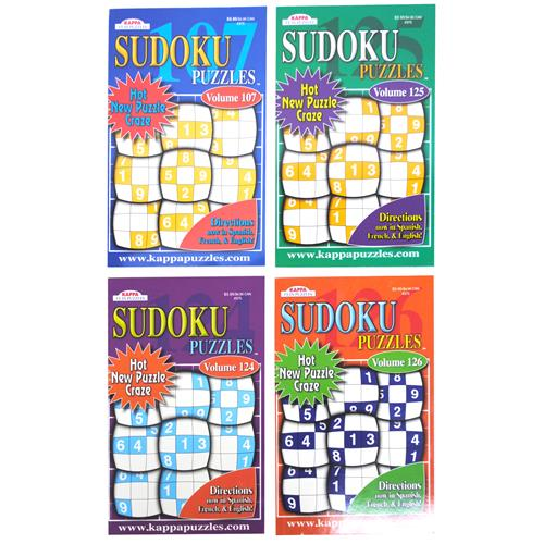 Wholesale Sudoku Puzzles Digest 128 Pages In PDQ