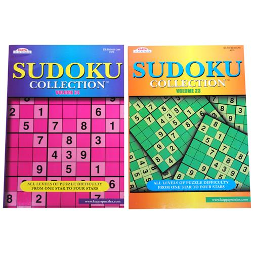 """Wholesale Sudoku Puzzle 8""""x11"""" 96 Pages In PDQ"""