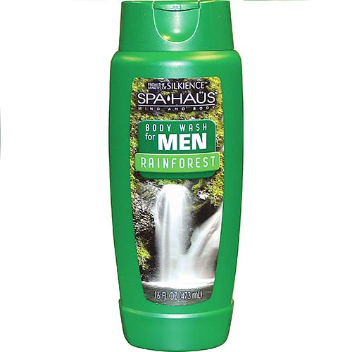 Wholesale  16 oz Spa Haus Body Wash Rainforest