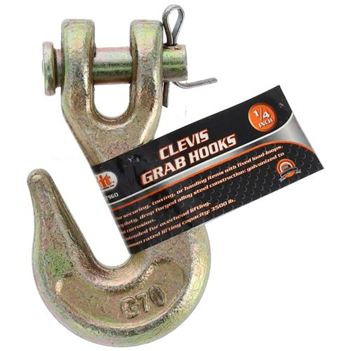 "Wholesale 1/4"" Clavis Grab Hooks"