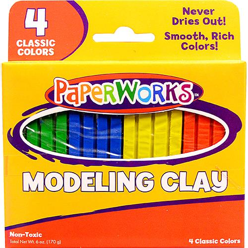Wholesale Modeling  Clay 4 colors. 4 oz