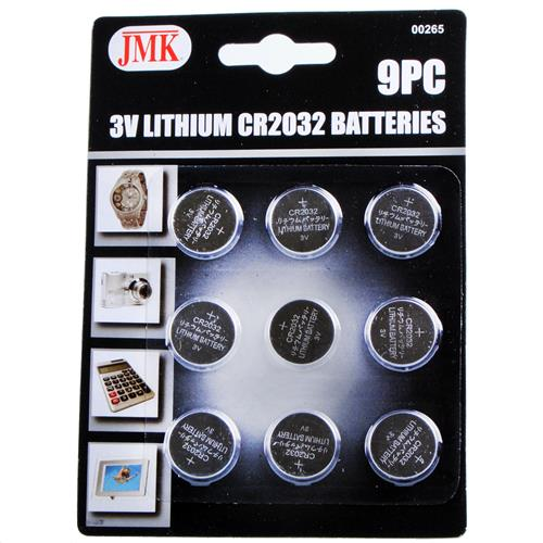 Wholesale JMK 3V Lithium CR2032 Button Batteries