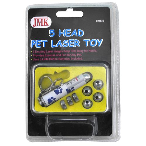 Wholesale Laser Toy with 5 Heads for Pets