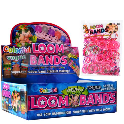 Wholesale Loom Bands Assorted Colors