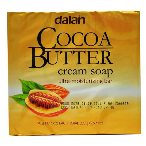 Wholesale Dalan Cocoa Butter Cream Soap 3.2 oz