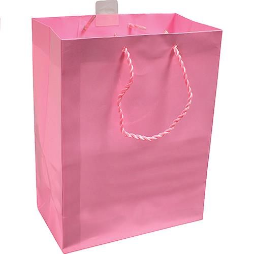 "Wholesale Hallmark Gift Bag Pink 7x9.5x4"" Med."