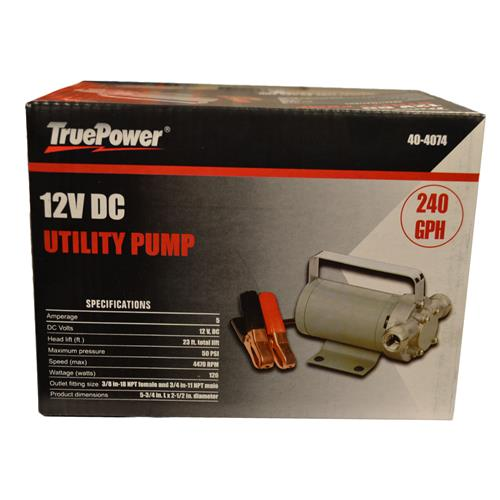 Wholesale 12V SELF PRIMING UTILITY PUMP 240 GPH