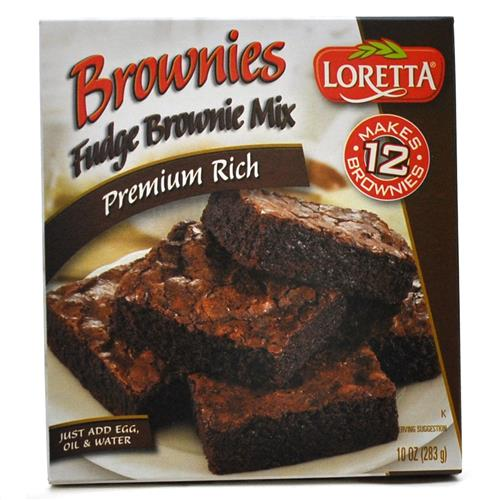Wholesale Loretta Fudge Brownie Mix