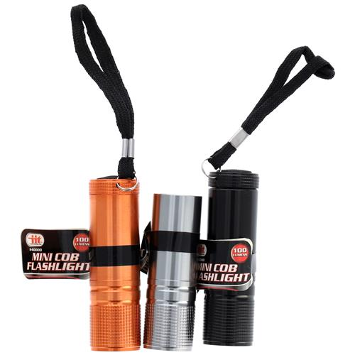 Wholesale ALUMINUM COB FLASHLIGHT 100 LUMEN