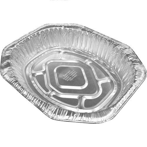 Wholesale Oval Roaster Pan - Large - Foil - No label 17.3x12