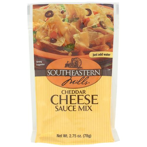 Wholesale SouthEastern Mills Cheddar Cheese Sauce = 2 Cups