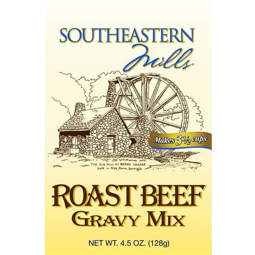Wholesale SouthEastern Mills Roast Beef Gravy Mix  - Makes 3