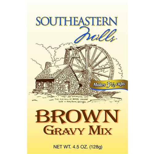 Wholesale Southern Mills Old Fashion Brown Gravy - 3.5 Cups