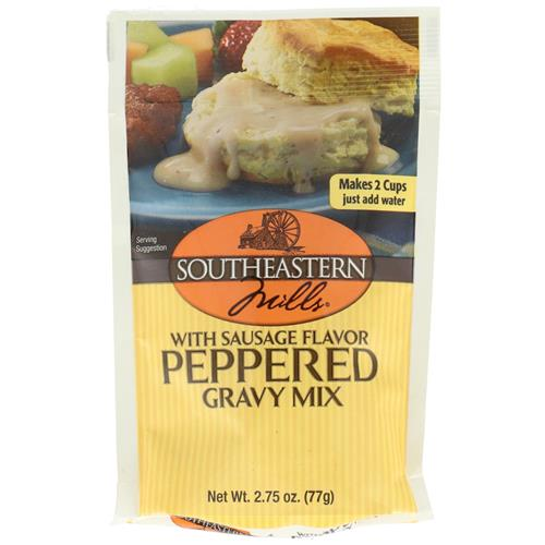 Wholesale SouthEastern Mills Old Fashion Pepper Gravy w/Sausage Flavor