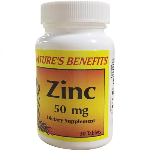 Wholesale Nature's Benefits Zinc 50 MG