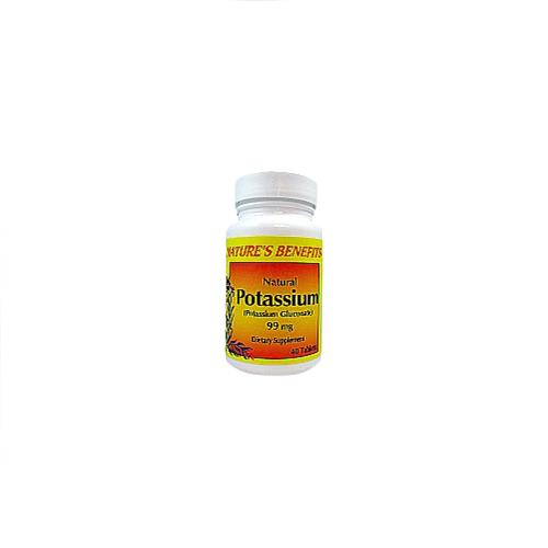 Wholesale Nature's Benefits Potassium 99 MG