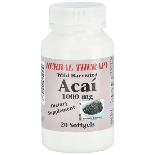 Wholesale Herbal Therapy with Harvest Acai 1000mg