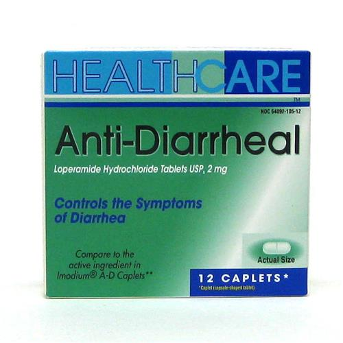 Wholesale Health Care Anti-Diarrheal Caplets (Immodium A-D)
