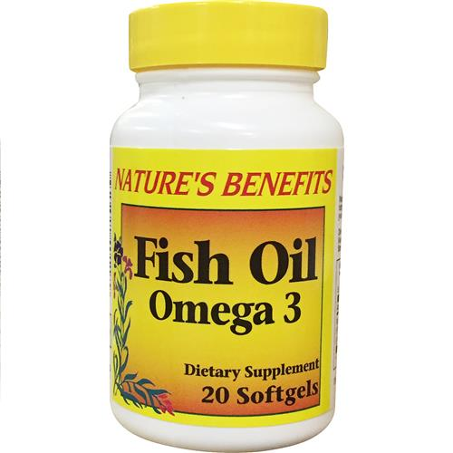 Wholesale Nature's Benefits Omega-3 Fish Oil 1,000 MG