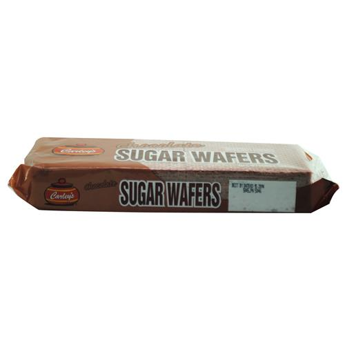 Wholesale Carley's Chocolate Flavored Sugar Wafers