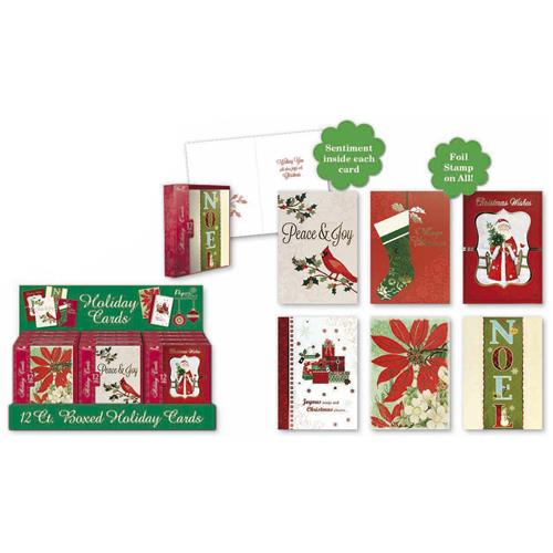Wholesale BOXED PREM CMAS CARDS 6 ASST C