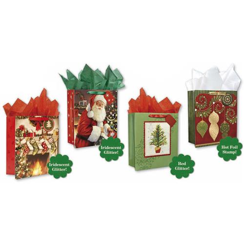 Wholesale CMAS GIFT BAG TRADITIONAL 4 ASST - LARGE