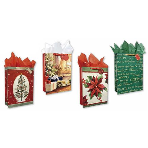 Wholesale CMAS GIFT BAG TRADITIONAL 4 ASST - JUMBO