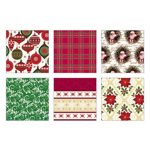"Wholesale 40 SQFT CMAS WRAP 16'x30"" 6 ASST DESIGN-TRAD.FOLK"