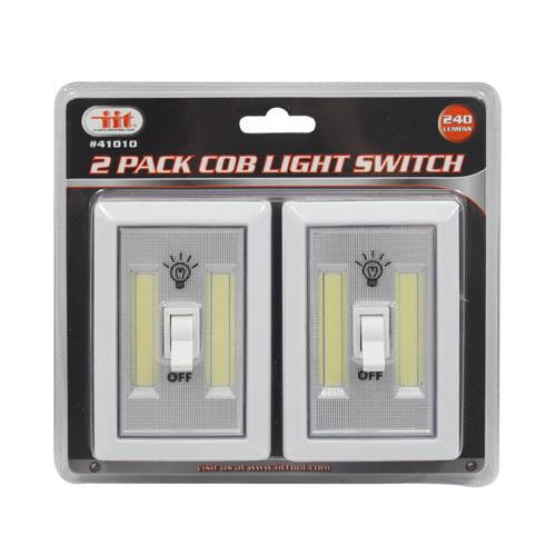 Wholesale 2pk COB LIGHT SWITCH