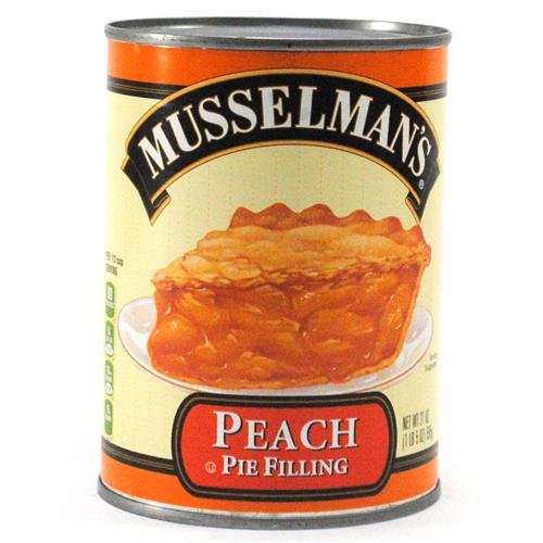 Wholesale BEST BY 8/20/18 -Musselman's Peach Pie Filling