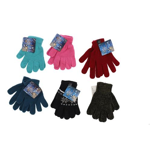 Wholesale WINTER MAGIC GLOVES ASSORTED COLORS