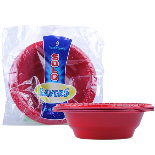 Wholesale Solo Red Party Bowl 12oz
