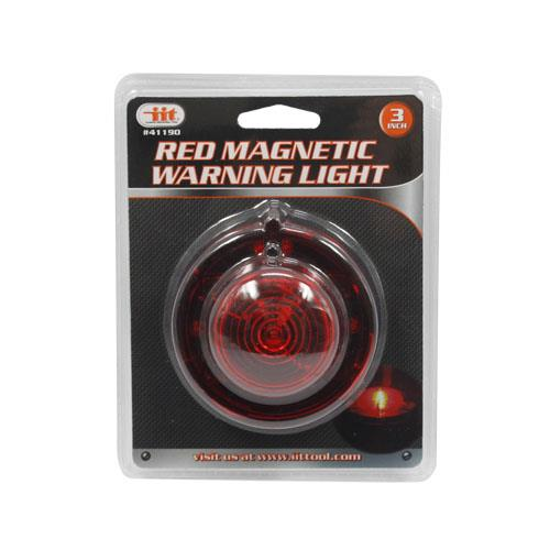 Wholesale RED MAGNETIC WARNING LIGHT 3""