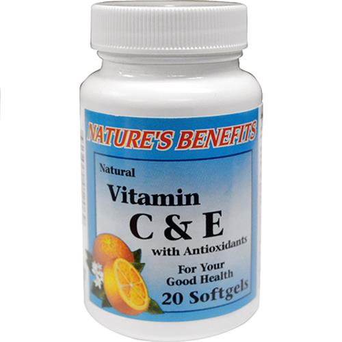Wholesale Nature's Benefits C & E Vitamin