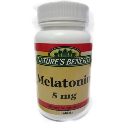 Wholesale Nature's Benefits Melatonin 5mg (Exp 9/20)