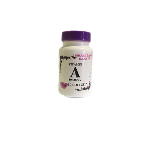 Wholesale Heatland Health Vitamin A 10,000 IU Softgel (Exp 9/20)