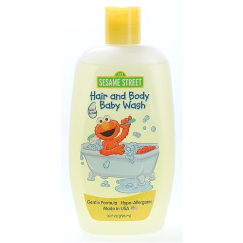 Wholesale Sesame Street Hair and Body Baby Wash