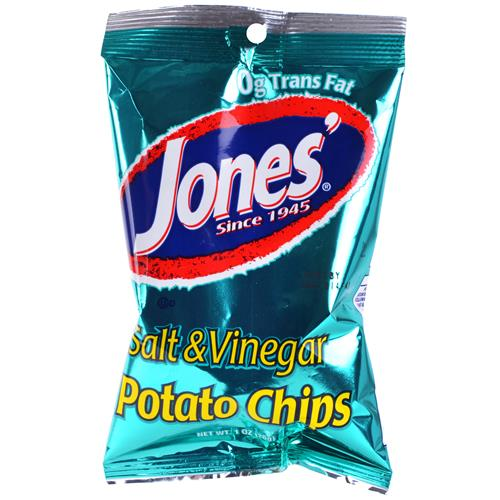 Wholesale Jones Salt & Vinegar Chips 3/$1.00 Expires 8/14