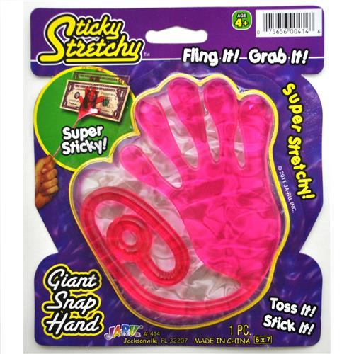 Wholesale Sticky Stretchy Giant Snap Hand