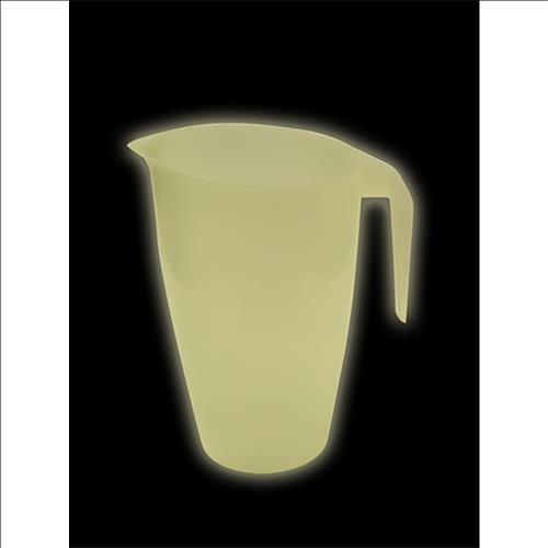 Wholesale 2 QT PLASTIC PITCHER -GLOW USA