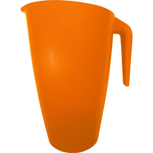 Wholesale 2 QT. PLASTIC PITCHER - ORANGE