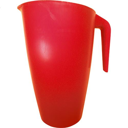Wholesale 2 QT PLASTIC PITCHER -RED USA