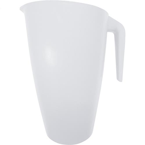 Wholesale 2 QT. PLASTIC PITCHER - WHITE