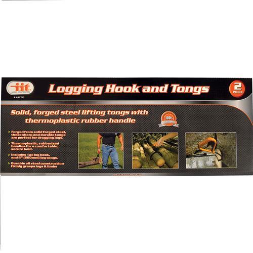 Wholesale 2pc LOG TONGS & LOG HOOK