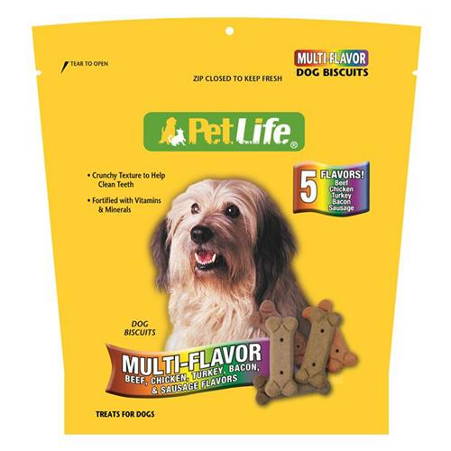 Wholesale Petlife Multi Biscuits Dog Treats