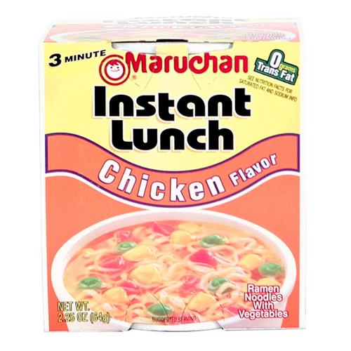 Wholesale Chicken Instant Lunch