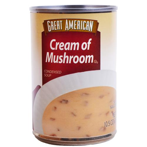 Wholesale Great American Cream of Mushroom Soup Expires 2/16
